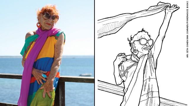 "<a href='http://advancedstyle.blogspot.com/2010/04/amazing-ilona-smithkin.html' target='_blank'>Ilona Royce Smithkin,</a> 93, is is known as ""Advanced Style's resident fairy godmother,"" blog editor Ari Seth Cohen says."