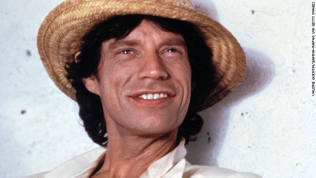 Mick Jagger poses for a portrait in France in 1991.