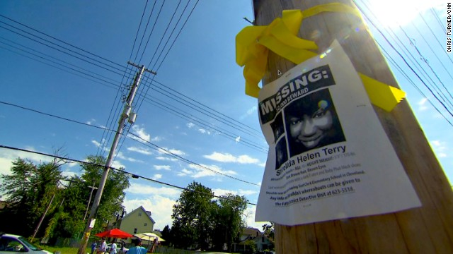 Posters for missing women and girls can been seen all over metropolitan Cleveland's impoverished neighborhoods. The Cleveland police website lists 54 women as missing within its city limits, but a community leader said he thinks that number is actually in the hundreds.