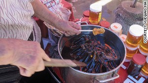Grass jelly: one of Kaiping\'s most popular summer snacks.