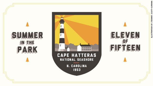 Cape Hatteras National Seashore offers beautiful beaches, of course, but much more. Stop by next week for <a href='http://www.nps.gov/olym/index.htm' target='_blank'>Olympic National Park</a>.