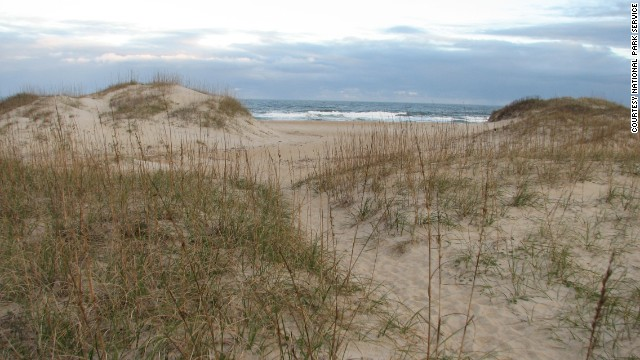 Cape Hatteras National Seashore is made up of barrier islands that protect North Carolina's mainland.