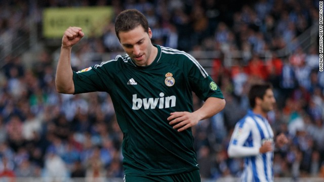 After Cavani joined PSG, Napoli used some of the money to sign Argentine international Gonzalo Higuain from Real Madrid. Higuain, who is reported to have cost Napoli in the region of $50 million, spent six-and-a-half seasons at the Bernabeu and scored a total of 107 goals in 187 appearances.