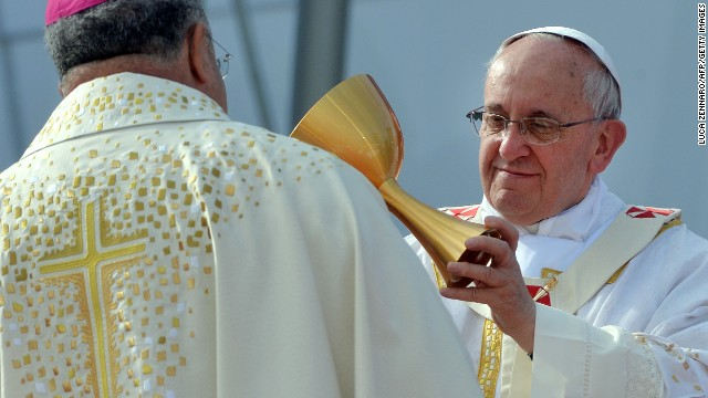 Photos: Pope Francis visits Brazil