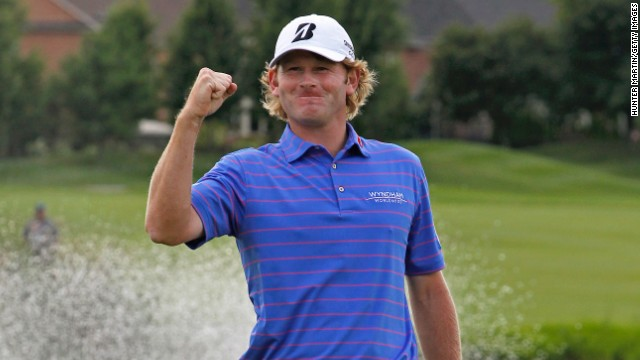 American Brandt Snedeker is placed seventh in golf's world rankings.