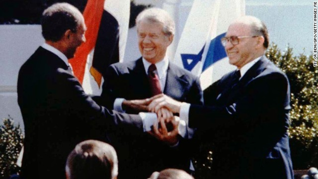 Defining moments in Middle East peace talks