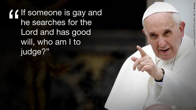Comentarios del Papa sobre los gays causan revuelo en las redes sociales