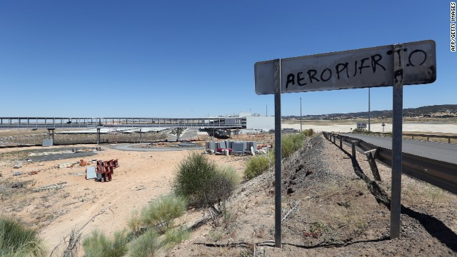 An airport that never really got off the ground, Ciudad Real is 150 miles from Spain's capital, Madrid, and closed after only three years of operations in 2012.