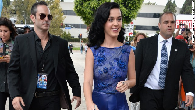 Golden ticket? Try golden semi for Katy Perry