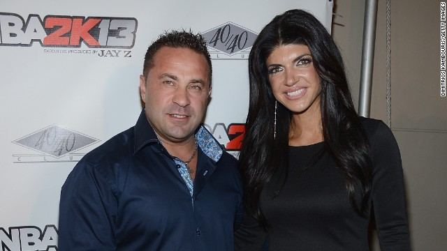 "Teresa and Joe Giudice are both headed to prison. On October 2, Joe was sentenced to 41 months in prison by a New Jersey federal judge. Teresa was sentenced to 15 months. The ""Real Housewives of New Jersey"" couple<a href='http://www.hlntv.com/article/2014/03/04/housewives-teresa-joe-giudice-plead-guilty-fraud' target='_blank'> pleaded guilty March 4 to multiple federal fraud charges,</a> including conspiracy to commit mail and wire fraud and lying on mortgage and loan applications."