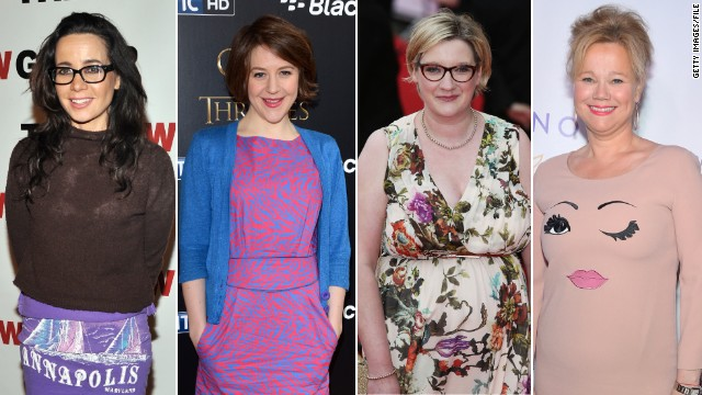 (L-R) Janeane Garofalo, Gemma Whelan, Sarah Millican and Caroline Rhea are bringing female funny to the annual Fringe Festival in Scotland.