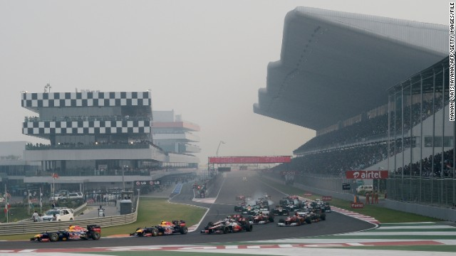 The Buddh International Circuit has hosted Formula One races since 2011.