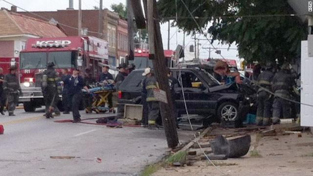 Un vehículo choca contra una guardería y deja a varios niños heridos en EE.UU.