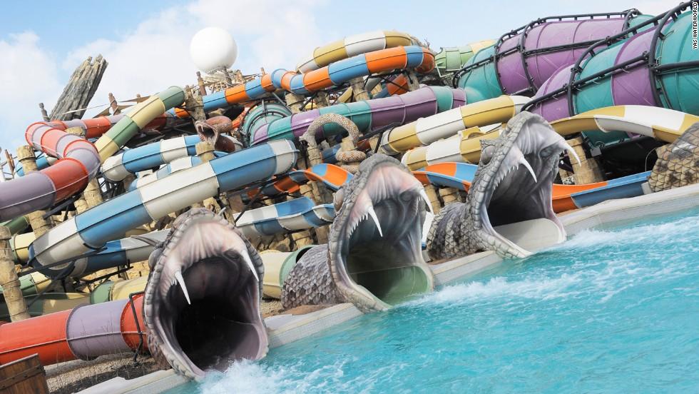 Yas Waterworld (Abu Dhabi, EAU)