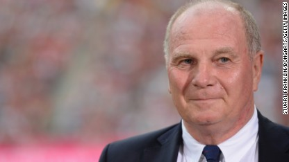 Football: Hoeness guilty of tax evasion