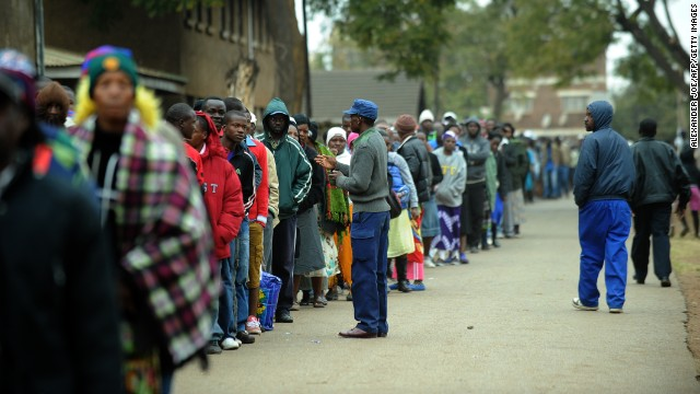 Photos: Zimbabwe votes