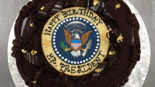 Pelosi delivers early birthday surprise to Obama