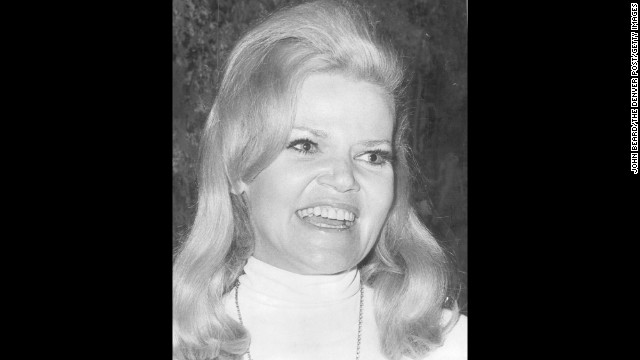 "<a href='http://www.cnn.com/2013/07/30/showbiz/acterss-eileen-brennan-obit/index.html' target='_blank'>Eileen Brennan</a>, who earned an Oscar nomination for her scene-stealing role in the 1980 hit comedy ""Private Benjamin,"" died Sunday, July 28, after a battle with bladder cancer, her management company said. Brennan, pictured here in 1968, was 80."