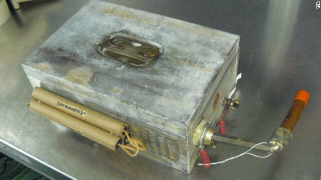 A gag gift made to look like an explosive device was found at Florida's St. Petersburg/Clearwater International Airport.