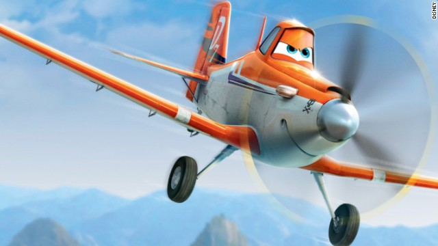 "Pilot Sean Bautista helped ""Planes"" filmmakers invent a storyline that allows the character Dusty, shown here, increase his speed. Dane Cook provides Dusty's voice in the movie. A lot of the planes in the film, Bautista says, intentionally resemble actual aircraft. Click through the gallery for more characters and a few real-life counterparts."