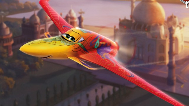 "Ishani, the ""reigning Pan-Asian champion from India,"" is ""easy on the eyes, but ruthless in the skies,"" says the ""Planes"" website. She's voiced by Priyanka Chopra."
