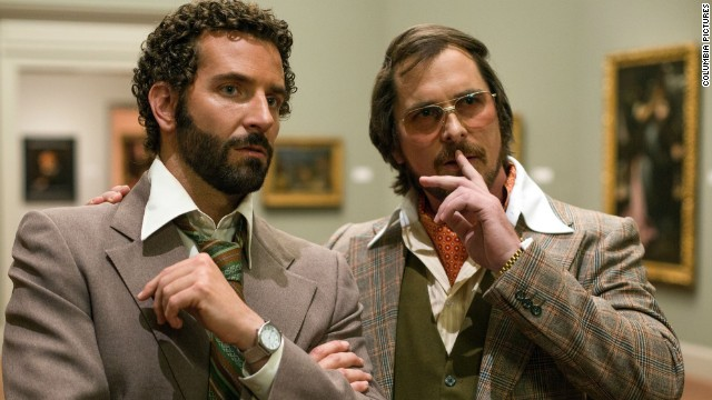 "Best motion picture, musical or comedy: ""American Hustle"""