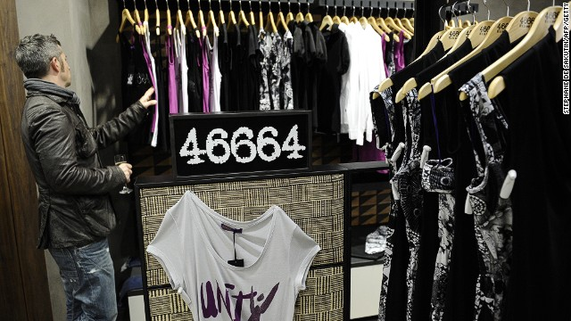 Nelson Mandela's former prison number -- 46664 -- is being used to brand <a href='http://edition.cnn.com/2011/WORLD/africa/09/01/mandela.fashion.46664/' target='_blank'>a clothing range</a>.
