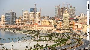 Beach life ... free in Luanda.