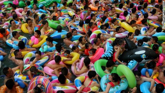 Una intensa ola de calor pone en riesgo a los habitantes de China