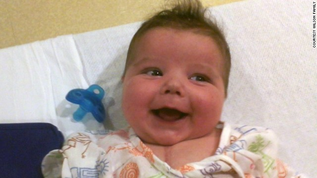 "Connor Wilson was born February 13, 2012. He had his first surgery at Kentucky Children's Hospital a week later and a second surgery on May 11. On August 3, 2012, his heart stopped, but doctors got it beating again. ""He never got better,"" says his mother, Nikki Crew."