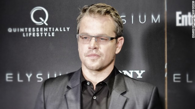 Matt Damon stepped in for Eminem in 'Elysium'