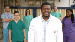 Dr. Georges Bwelle and his team of volunteers have performed 700 free surgeries in the past year.