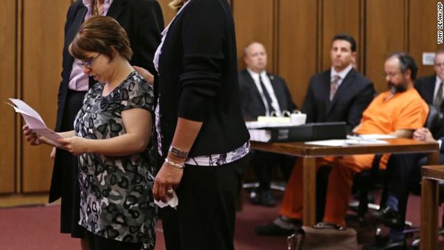 Michelle Knight, cara a cara con su secuestrador