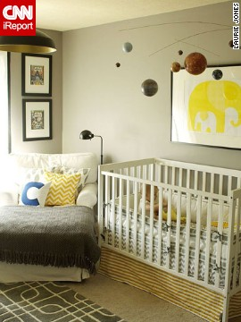 <a href='http://ireport.cnn.com/docs/DOC-1011169'>Laurie Jones</a>' <a href='http://lauriejoneshome.com' target='_blank'>eclectic</a> nursery.