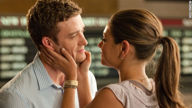 "Friends Dylan and Jamie, played by Justin Timberlake and Mila Kunis, decide to have a physical relationship in the 2011 film, ""Friends with Benefits."""