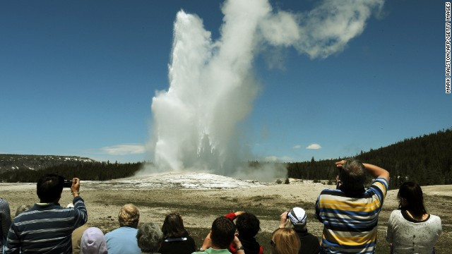 """Old Faithful Geyser may be the most-famous """"resident"""" of Yellowstone National Park, but park ranger Dan Hottle says there is much more to see at the 2.2 million-acre park."""