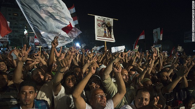 El ministro de Defensa de Egipto se reúne con islamistas para resolver crisis