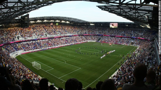 Major League Soccer's New York Red Bulls have shown that soccer in the city can be a success. Cosmos COO Erik Stover spent three years with the team, helping the Red Bulls move to a new purpose-built stadium.