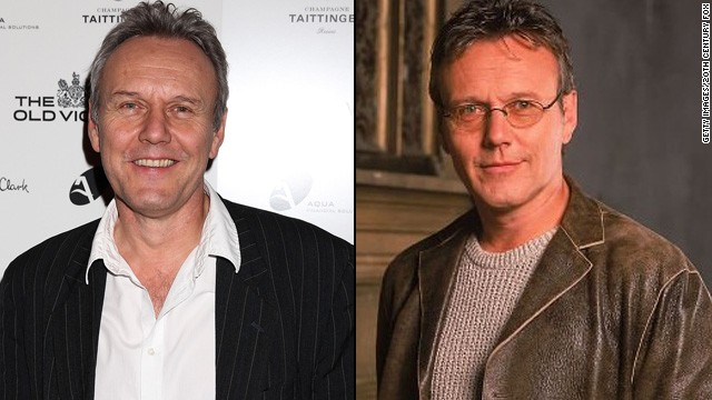 "Anthony Head played smartypants Rupert Giles, Sunnydale High's librarian and Buffy's Watcher. He's known best in the States for his sage advice and fatherly instincts, but his career extends far beyond the ""Slayer."" In addition to dabbling in movies like 2011's ""The Iron Lady"" and this month's release, ""Percy Jackson: Sea of Monsters,"" Head has appeared in TV series ""Dancing on the Edge"" and ""Warehouse 13."""