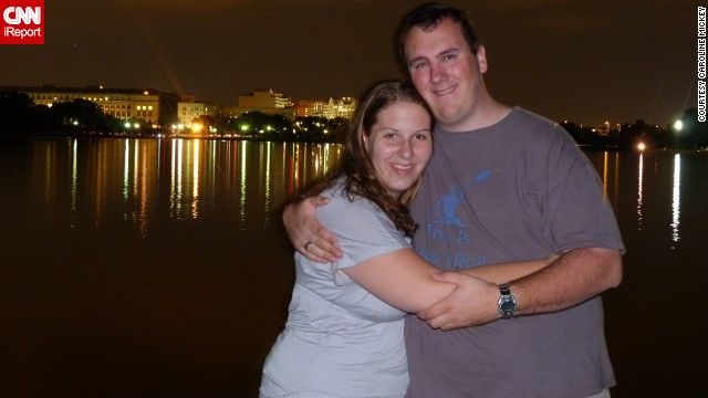 Two months after graduating from college, the couple moved in together in Maryland. They decided to get fit together once they realized their poor eating habits could affect their health.