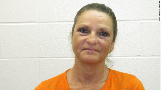 Glenda Estell, the 54-year-old mother of Derrick Estell, was arrested by Garland County Sheriff's deputies for assisting in the prison escape of her son.