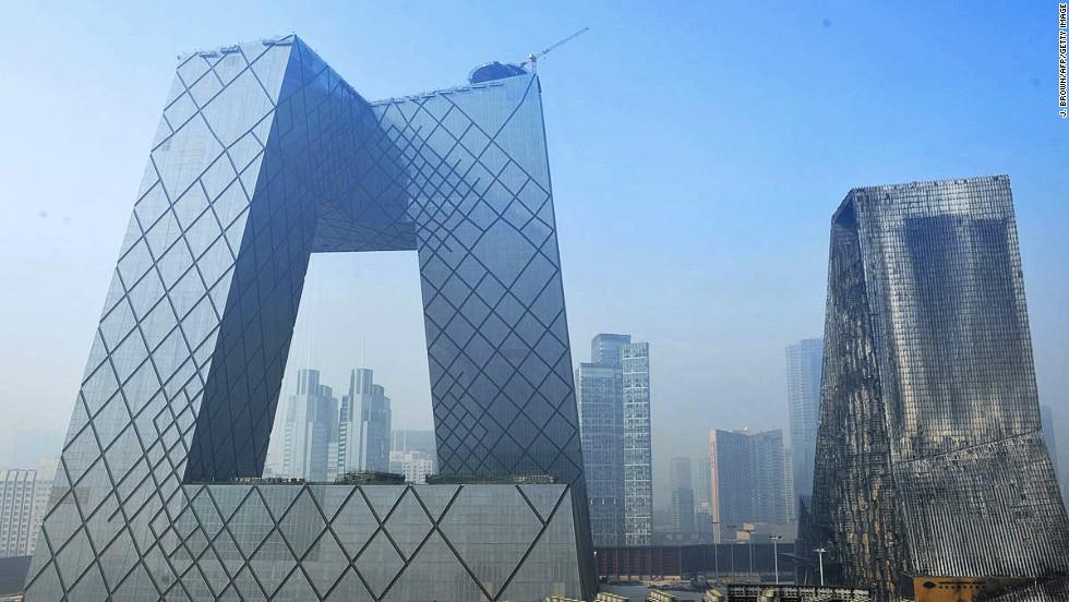 Sede central de la Televisión China