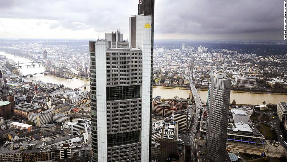 Sede del Commerzbank, Frankfurt, Alemania