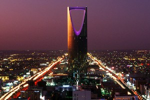 Kingdom Centre, Riad, Arabia Saudita