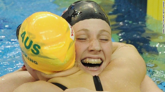 Franklin announced herself to the swimming world as a 16-year-old when she won two individual golds at the 2011 World Championships in Shanghai, plus another in a relay event.