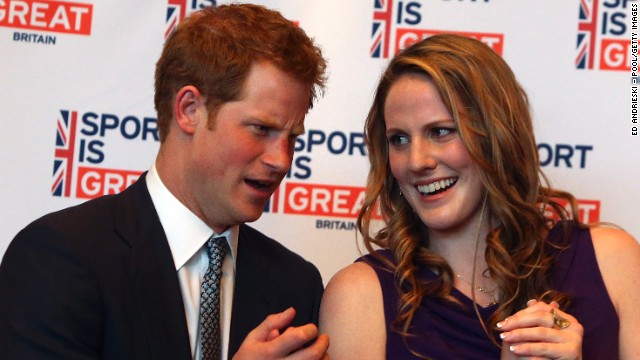 "Franklin rubbed shoulders with Britain's Prince Harry in May 2013 when he visited the U.S. ""And the perfect way to end my 18th birthday!?"" she tweeted. ""Meeting Prince Harry! It was a honor meeting him and I had a blast as always."""