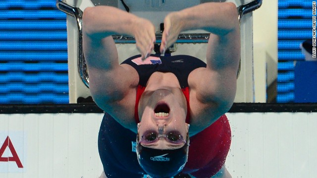 Back in the pool at the 2013 World Championships in Spain, Franklin became just the third female to win five golds at a World Championships in 35 years before bettering that tally on Sunday.