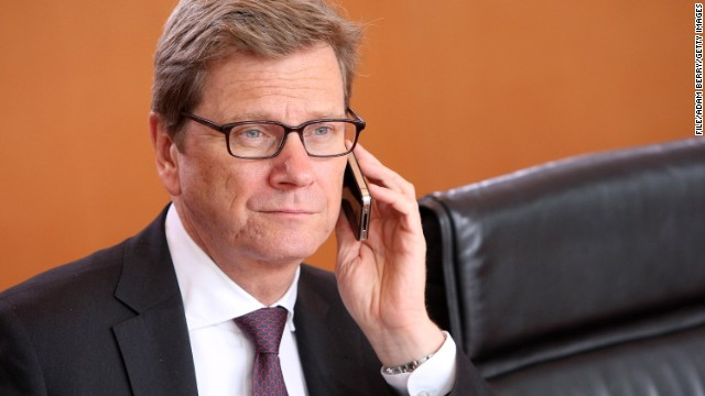 German Foreign Minister Guido Westerwelle said the cancellation of the information sharing pact with the United States and Great Britain