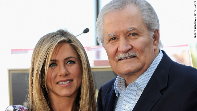 "Jennifer Aniston's dad, John Aniston, is most famous for his decades-long stint on daytime soap ""Days of Our Lives."" Jennifer also found the small screen crucial to her success: The actress became a household name as Rachel Green on the sitcom ""Friends."""