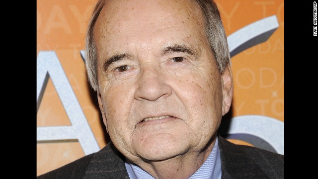 John Palmer, a veteran reporter for NBC News, died Saturday, August 3, after a short illness, according to the network. He was 77.